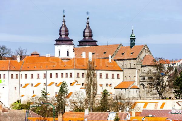 Сток-фото: базилика · Чешская · республика · дома · Церкви · путешествия · архитектура