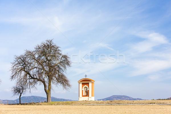 Işkence bölge Çek Cumhuriyeti ağaç doğa mimari Stok fotoğraf © phbcz