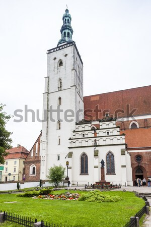 Basilique saint baisser Pologne bâtiment architecture Photo stock © phbcz