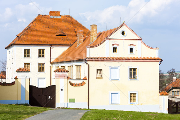 Pałac Czechy budynku architektury Europie historii Zdjęcia stock © phbcz