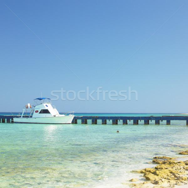 La Rio Cuba mer été vacances Photo stock © phbcz