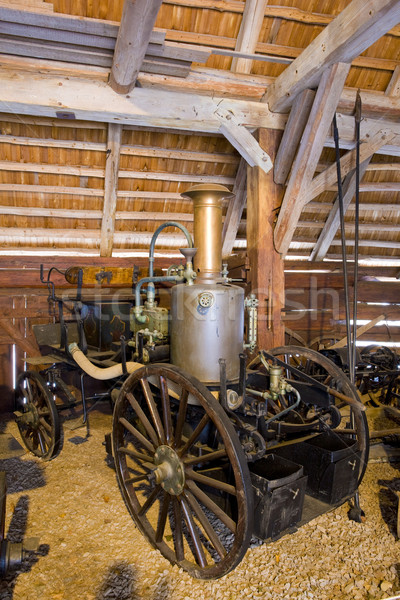 old fire-engine, Vesely Kopec, Czech Republic Stock photo © phbcz