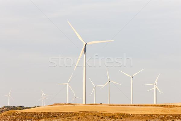Zdjęcia stock: Hiszpania · przemysłu · energii · moc · roślin