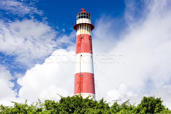 South Point Lighthouse, Barbados Stock photo © phbcz