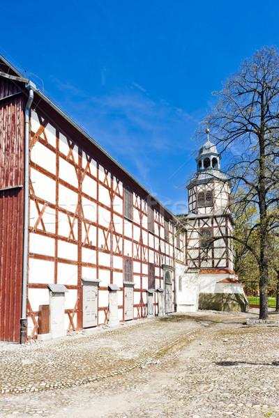 timbered church of Jawor, Silesia, Poland Stock photo © phbcz