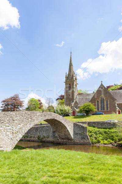 橋 スコットランド 教会 アーキテクチャ ヨーロッパ ストックフォト © phbcz