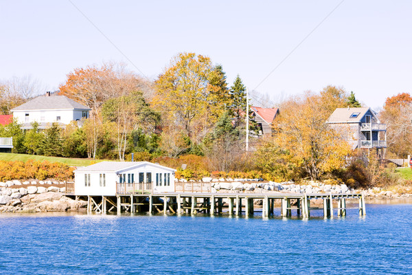 Southwest Harbor, Mount Desert Island, Maine, USA Stock photo © phbcz