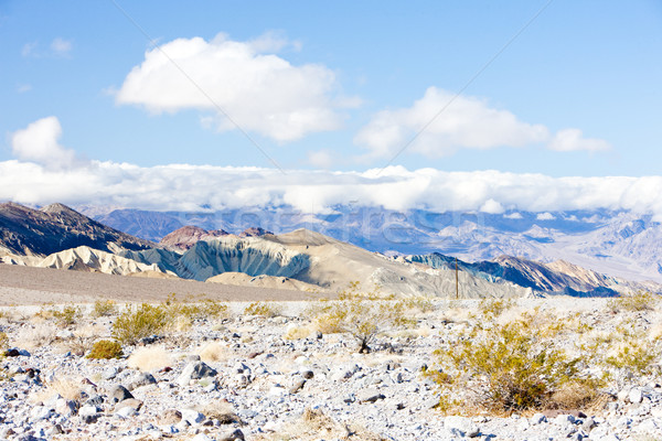 Dood vallei park Californië USA winter Stockfoto © phbcz