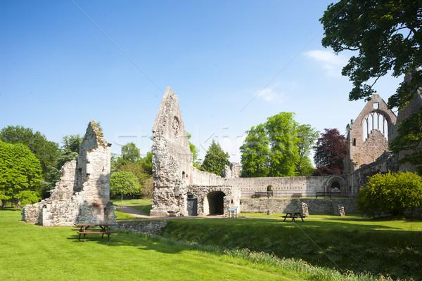 Ruinas abadía Escocia edificio arquitectura Foto stock © phbcz