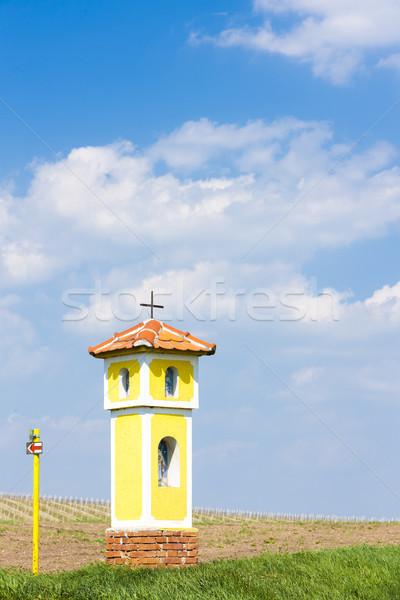 Işkence Çek Cumhuriyeti Bina mimari Avrupa açık havada Stok fotoğraf © phbcz