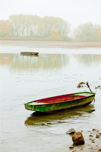 autumnal pond, Czech Republic Stock photo © phbcz