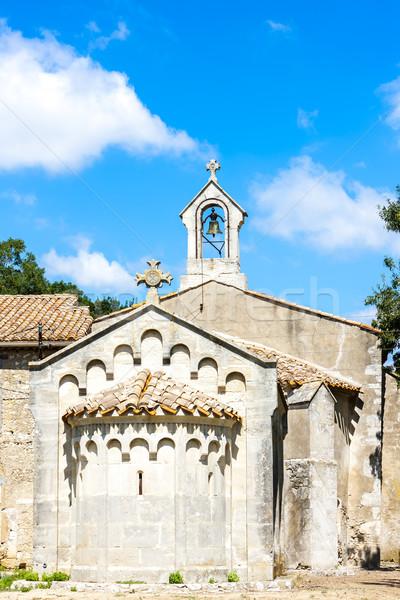 Chapelle France église Voyage architecture religieux Photo stock © phbcz