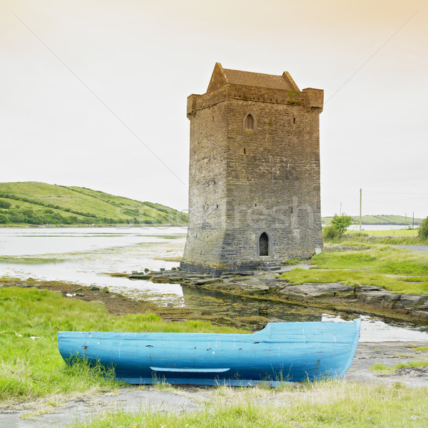 Rockfleet Castle, County Mayo, Ireland Stock photo © phbcz
