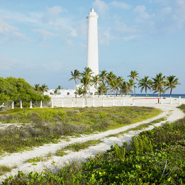 lighthouse, Cayo Sabinal, Camaguey Province, Cuba Stock photo © phbcz