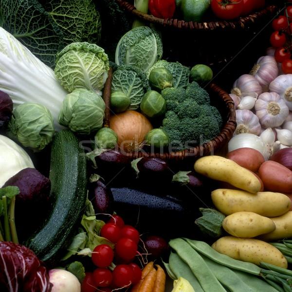 Verdura ancora vita alimentare salute interni vegetali Foto d'archivio © phbcz