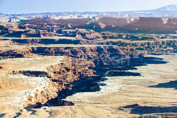 Parku Utah USA charakter podróży góry Zdjęcia stock © phbcz