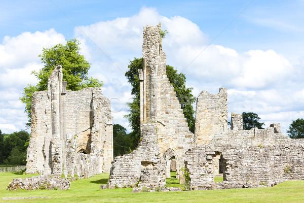 руин аббатство Англии здании архитектура Готский Сток-фото © phbcz