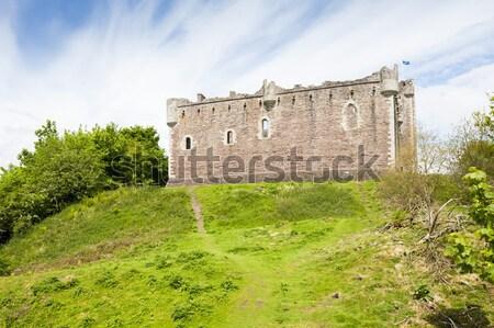 замок Шотландии архитектура Европа история средневековых Сток-фото © phbcz