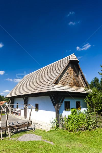 Müze Çek Cumhuriyeti Bina seyahat mimari Avrupa Stok fotoğraf © phbcz