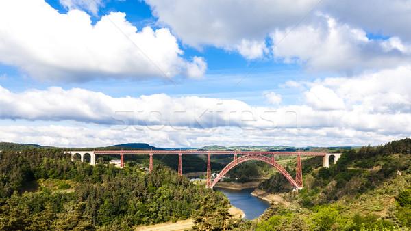 Département France pont Voyage architecture Europe Photo stock © phbcz