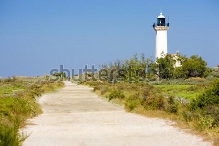 Gacholle lighthouse, Parc Regional de Camargue, Provence, France Stock photo © phbcz