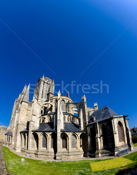 Cathedral Notre Dame, Coutances, Normandy, France Stock photo © phbcz
