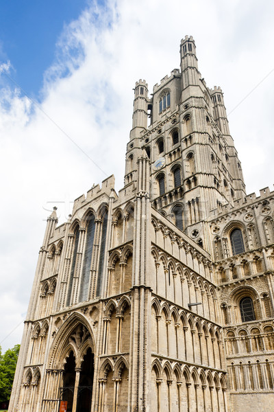 cathedral of Ely, East Anglia, England Stock photo © phbcz