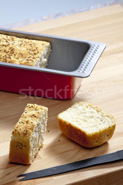 Gebak vorm voeding binnenkant Stockfoto © phbcz