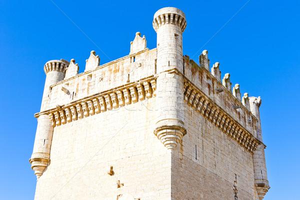 Castle of Belmonte de Campos, Castile and Leon, Spain Stock photo © phbcz
