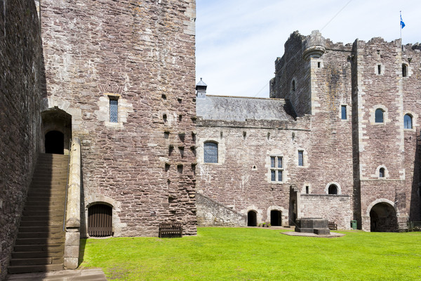 Castelo escócia arquitetura europa história medieval Foto stock © phbcz
