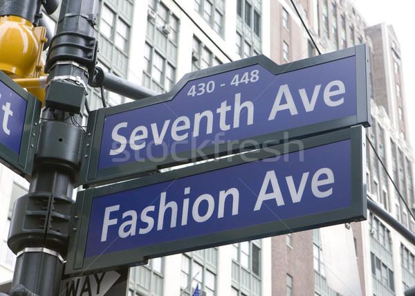7th Avenue, New York City, USA Stock photo © phbcz