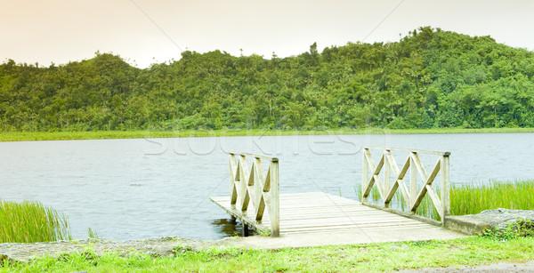 Meer park Grenada landschap stilte outdoor Stockfoto © phbcz