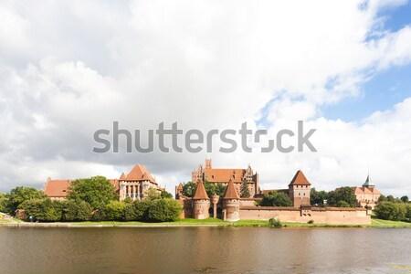 Polonia edificio viaje río arquitectura Europa Foto stock © phbcz