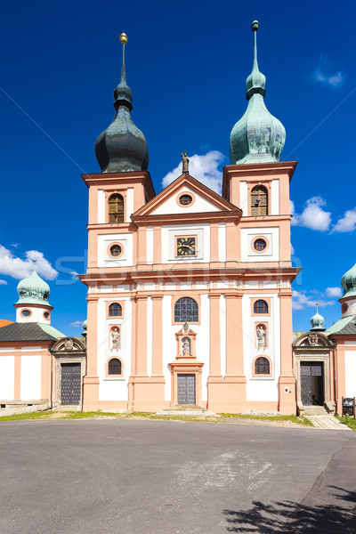 Chlum Svate Mari (Chlum of Holy Mary), Czech Republic Stock photo © phbcz