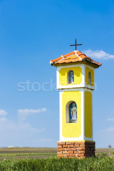 Stock photo: God''s torture near Strachotin, Czech Republic