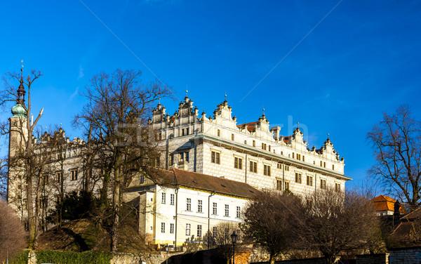 Palazzo Repubblica Ceca costruzione architettura Europa città Foto d'archivio © phbcz