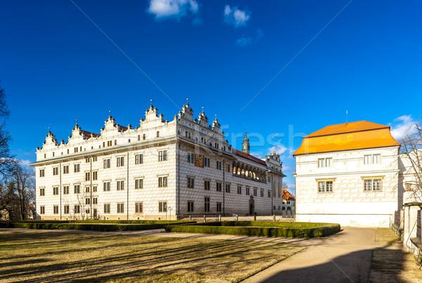 Palazzo Repubblica Ceca costruzione architettura Europa esterna Foto d'archivio © phbcz
