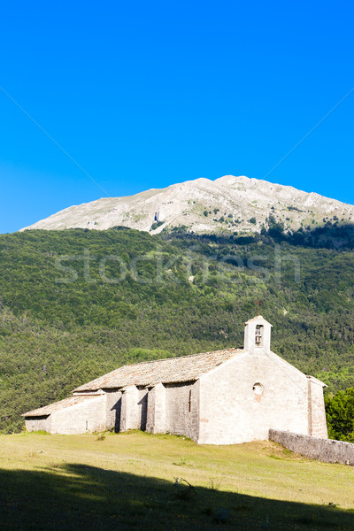 Chapel Notre-Dame near Vergons, Provence, France Stock photo © phbcz