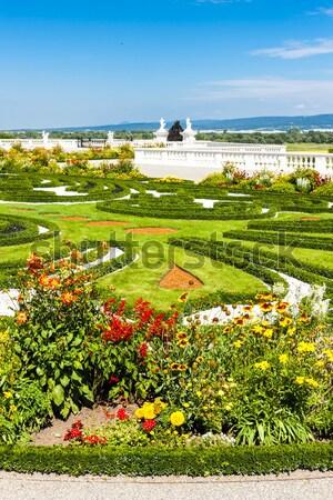 garden of Hof Palace, Lower Austria, Austria Stock photo © phbcz