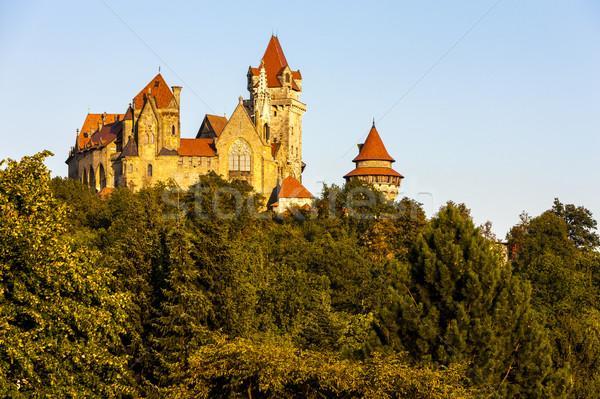 Château baisser Autriche Voyage architecture Photo stock © phbcz