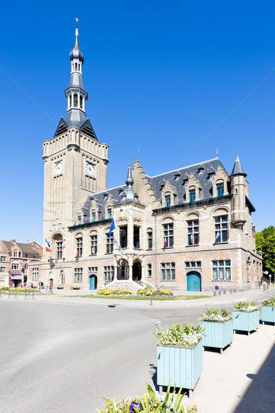 ратуша Франция город архитектура Европа история Сток-фото © phbcz