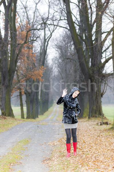женщину аллеи женщины Сток-фото © phbcz