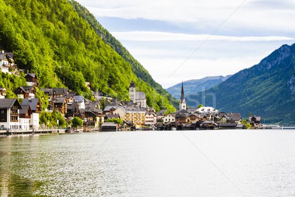 Hallstatt, Upper Austria, Austria Stock photo © phbcz