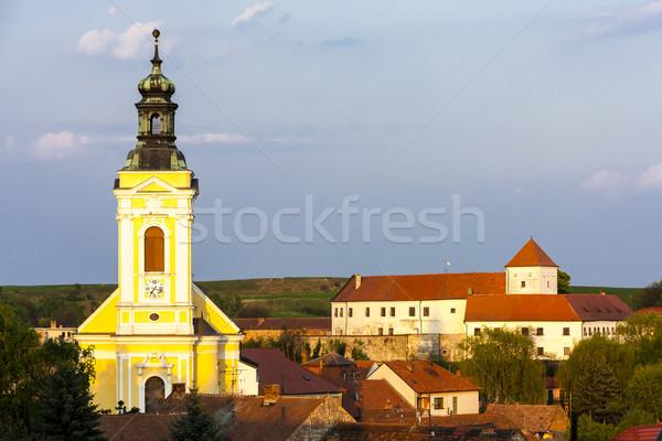 教会 城 チェコ共和国 建物 アーキテクチャ ストックフォト © phbcz
