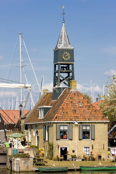 Hindeloopen, Friesland, Netherlands Stock photo © phbcz