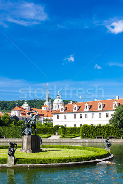 Valdstejnska Garden, Prague, Czech Republic Stock photo © phbcz