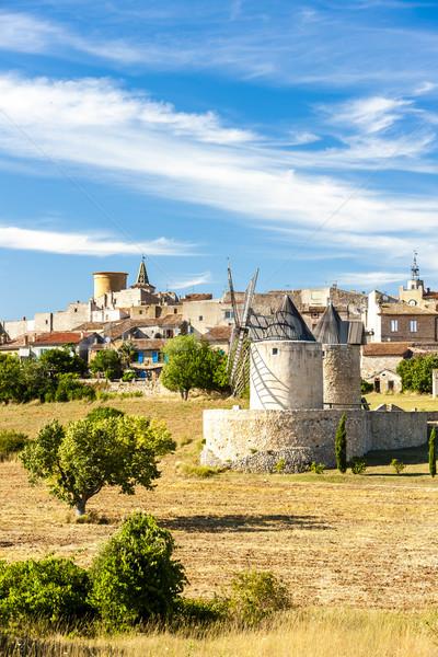 Regusse, Provence, France Stock photo © phbcz