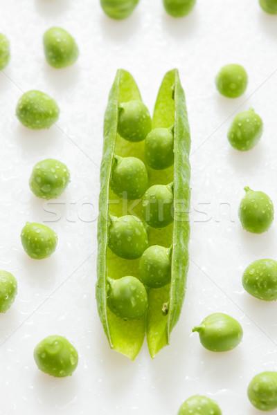 ポッド エンドウ 健康 インテリア 野菜 野菜 ストックフォト © phbcz