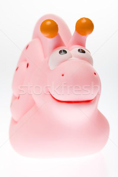 Stock fotó: Gumi · játék · baba · játékok · csiga · tárgyak