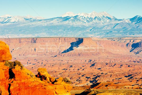 Park Utah ABD manzara kayalar sessizlik Stok fotoğraf © phbcz